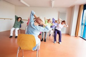 Chair Yoga Improves Osteoarthritis Symptoms in Older Adults